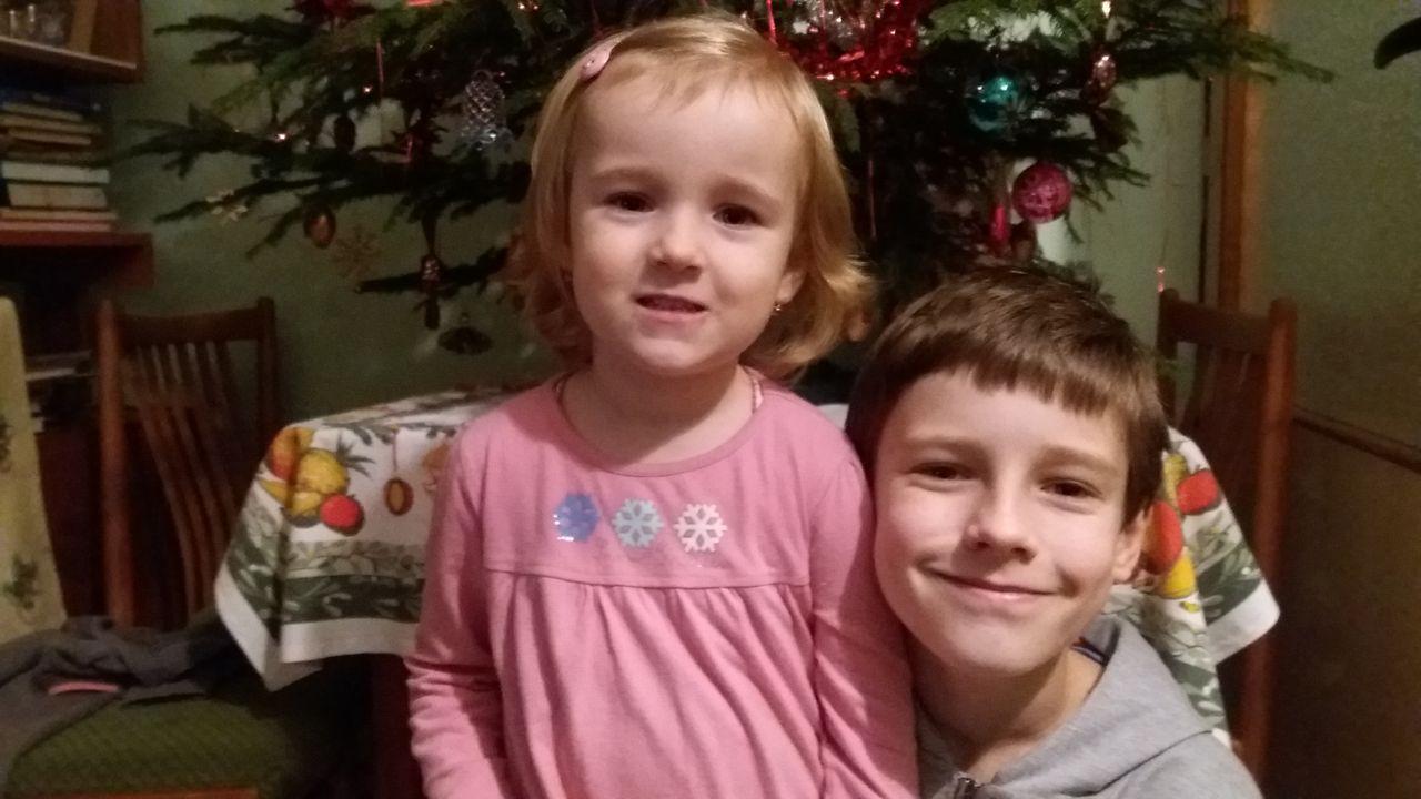 Se sestrou - Vánoce 2018