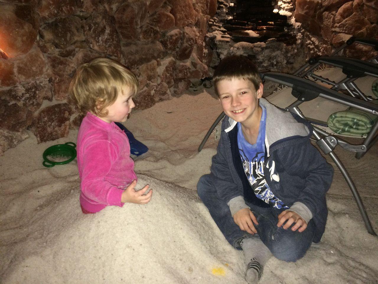 V solné jeskyni