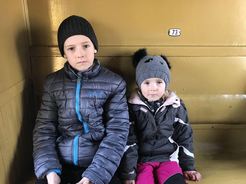 Ve vlaku
