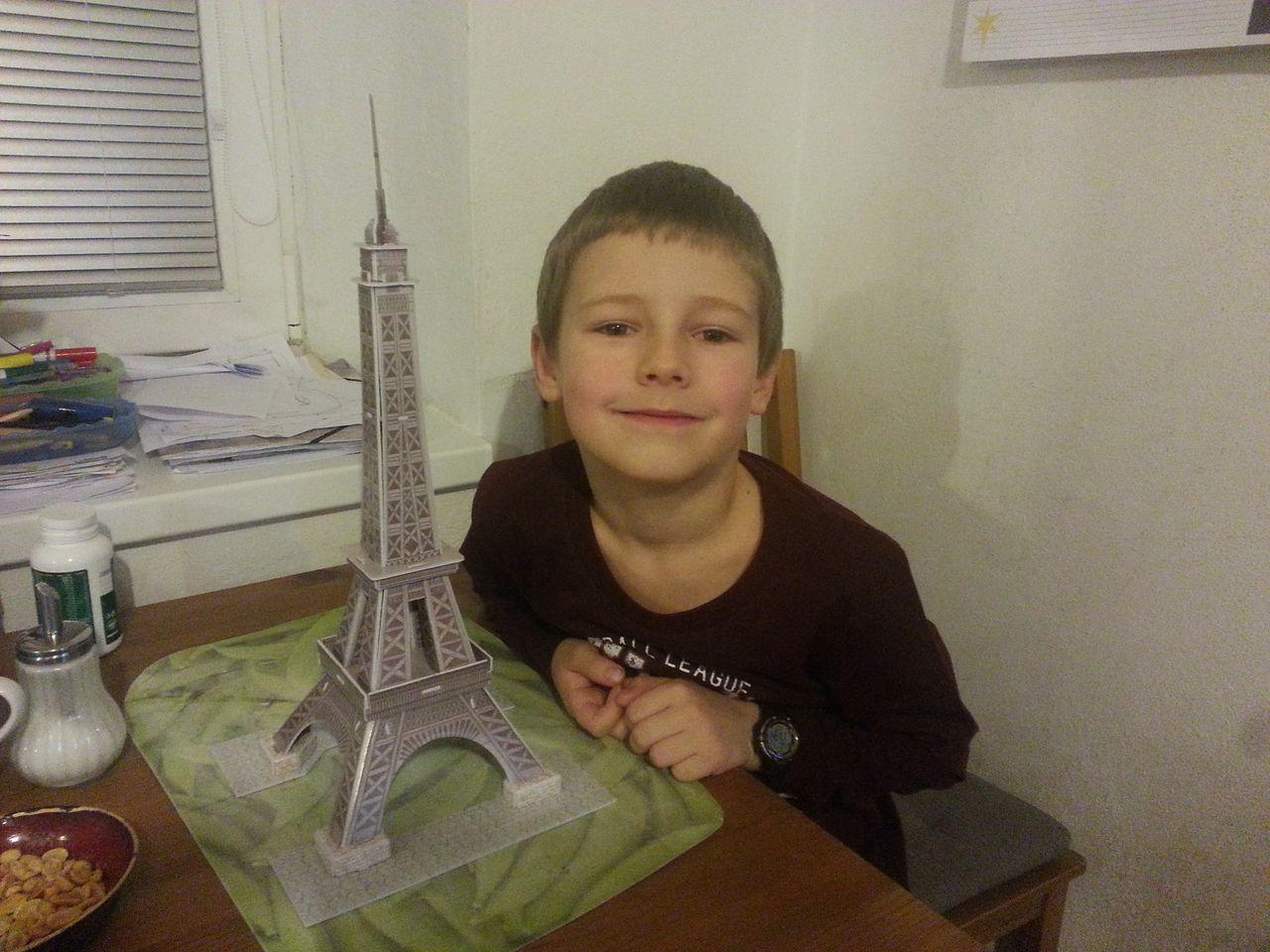 Míra s Eiffelovkou