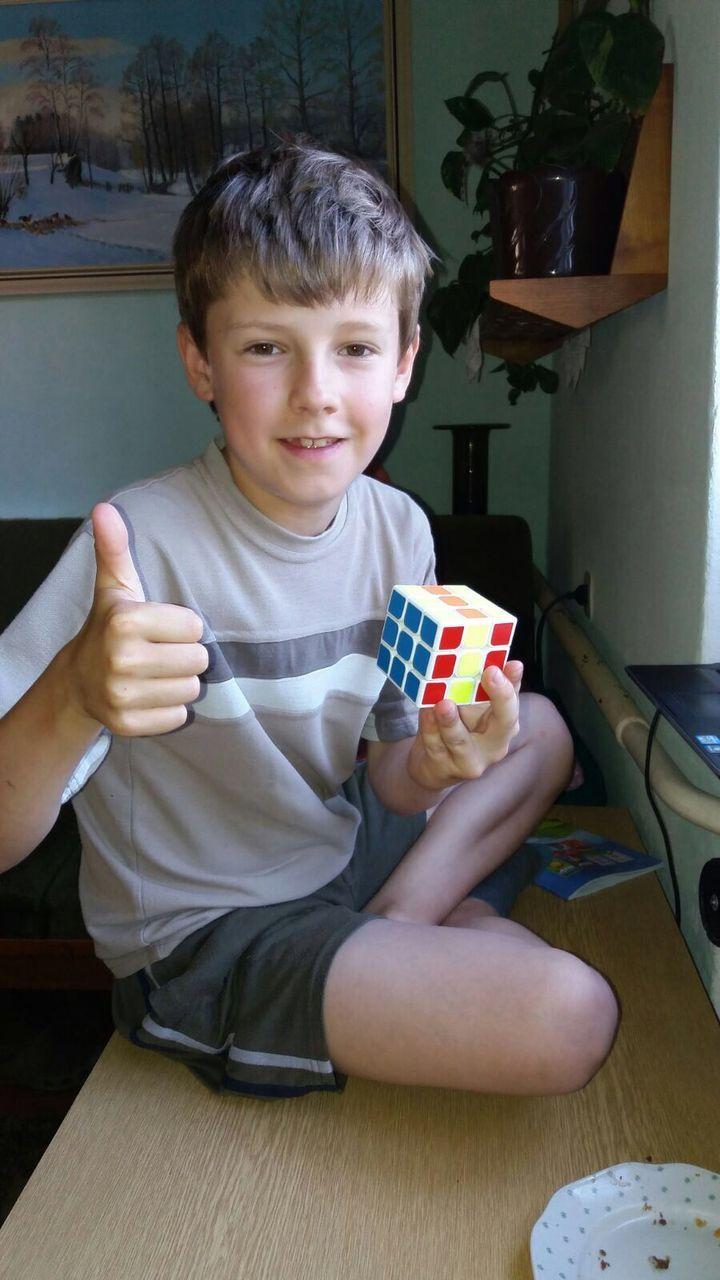 S Rubikovkou