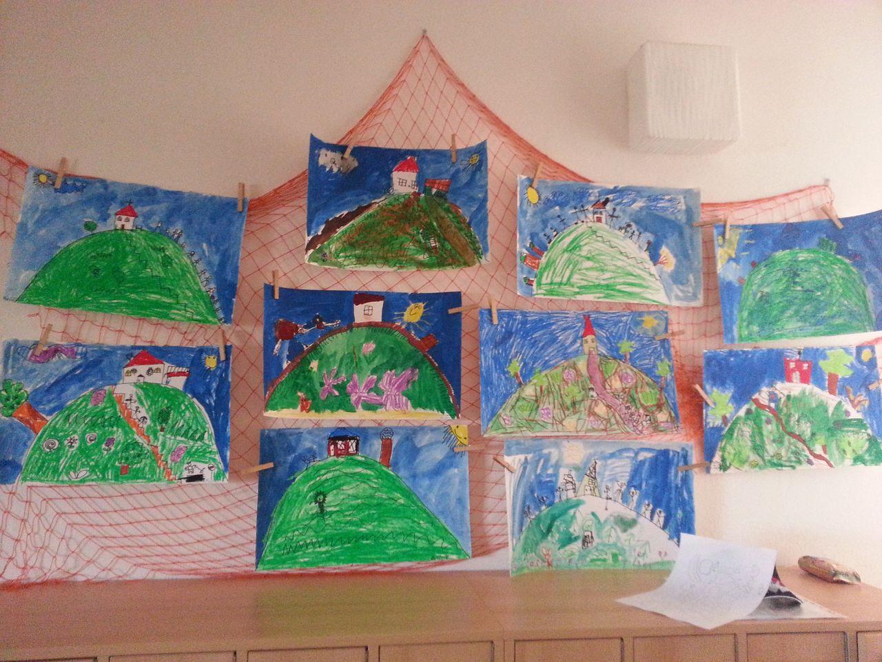 Děti malovaly Santon