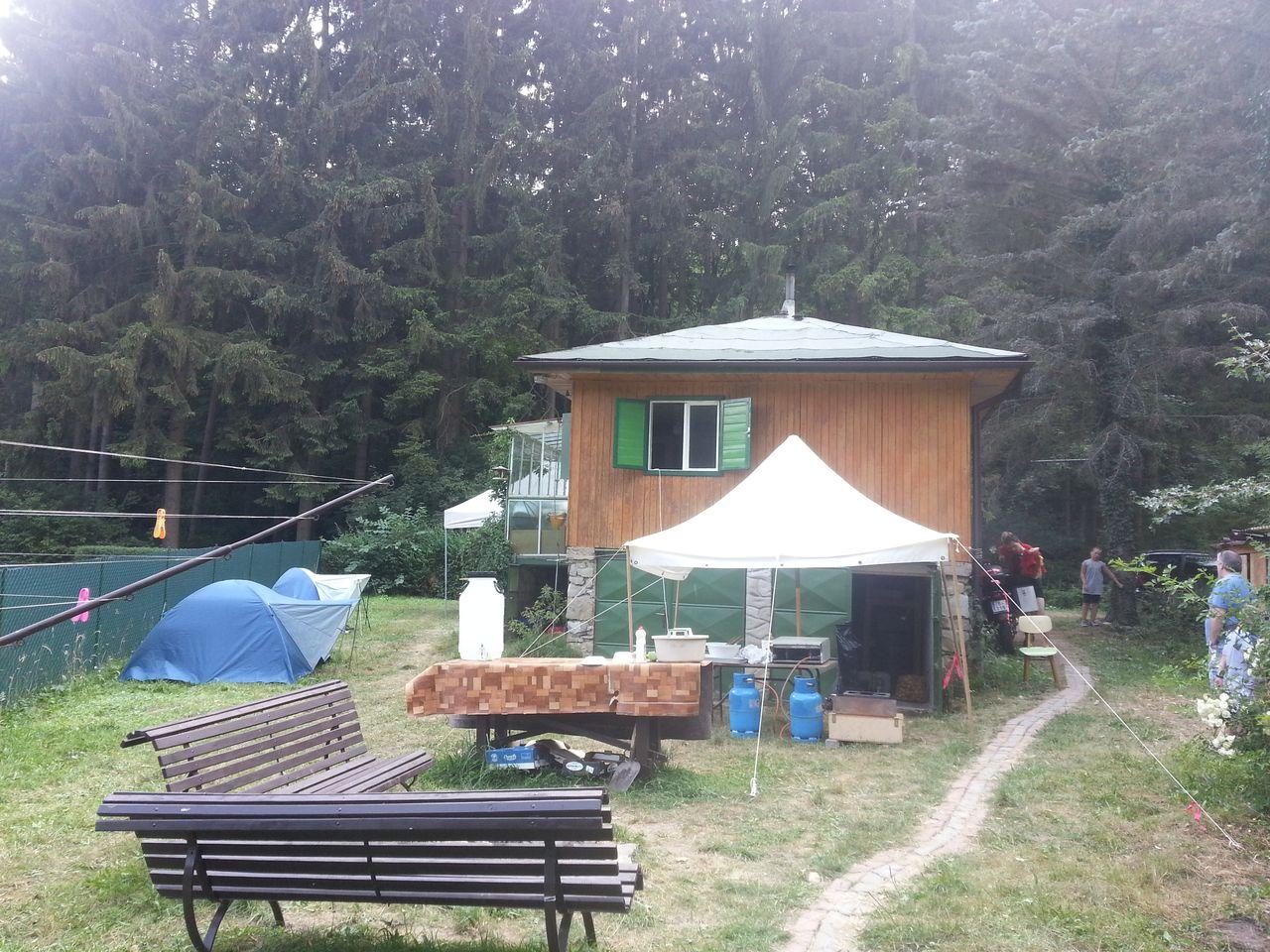 Skautský tábor 2015