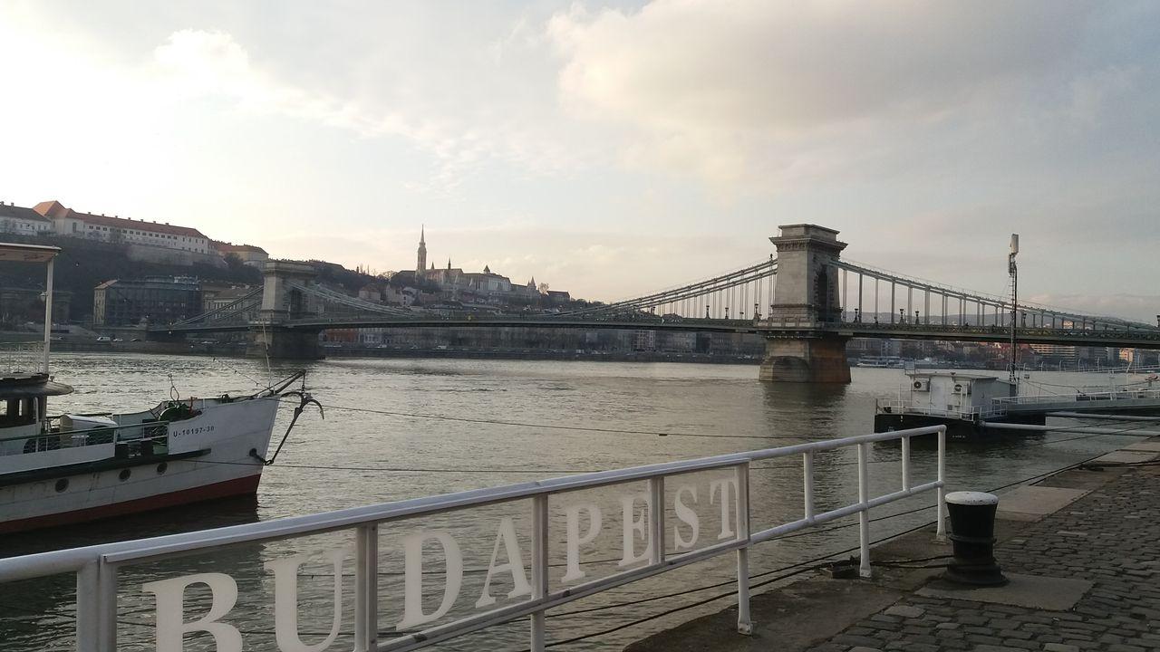 Budapešť - Széchenyiho řezězový most