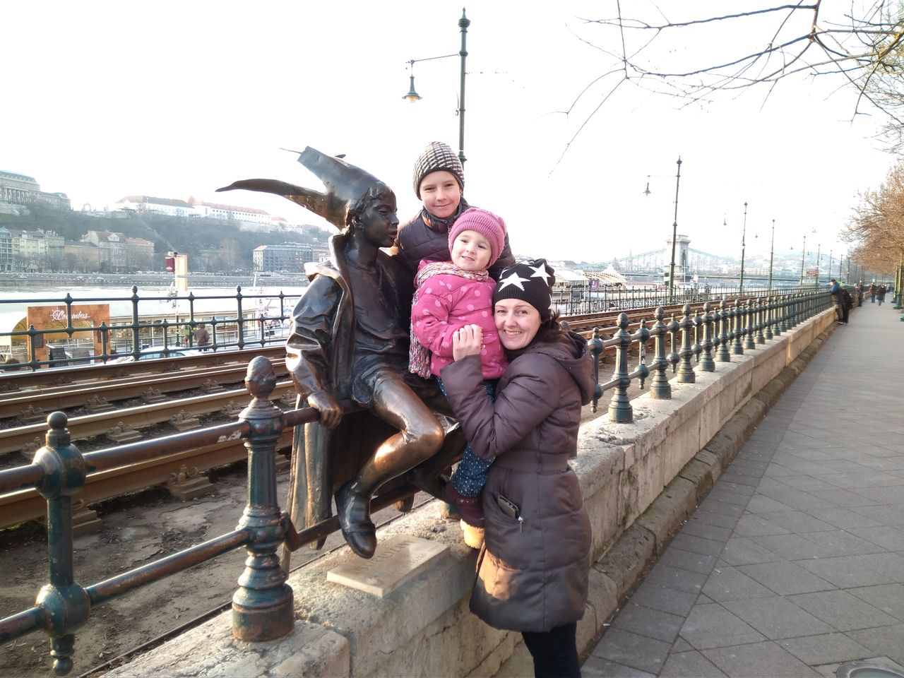 Budapešť - Malá mořská víla