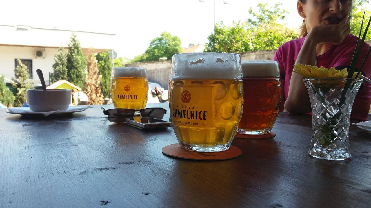 V pivovaru Chmelnice v Napajedlech