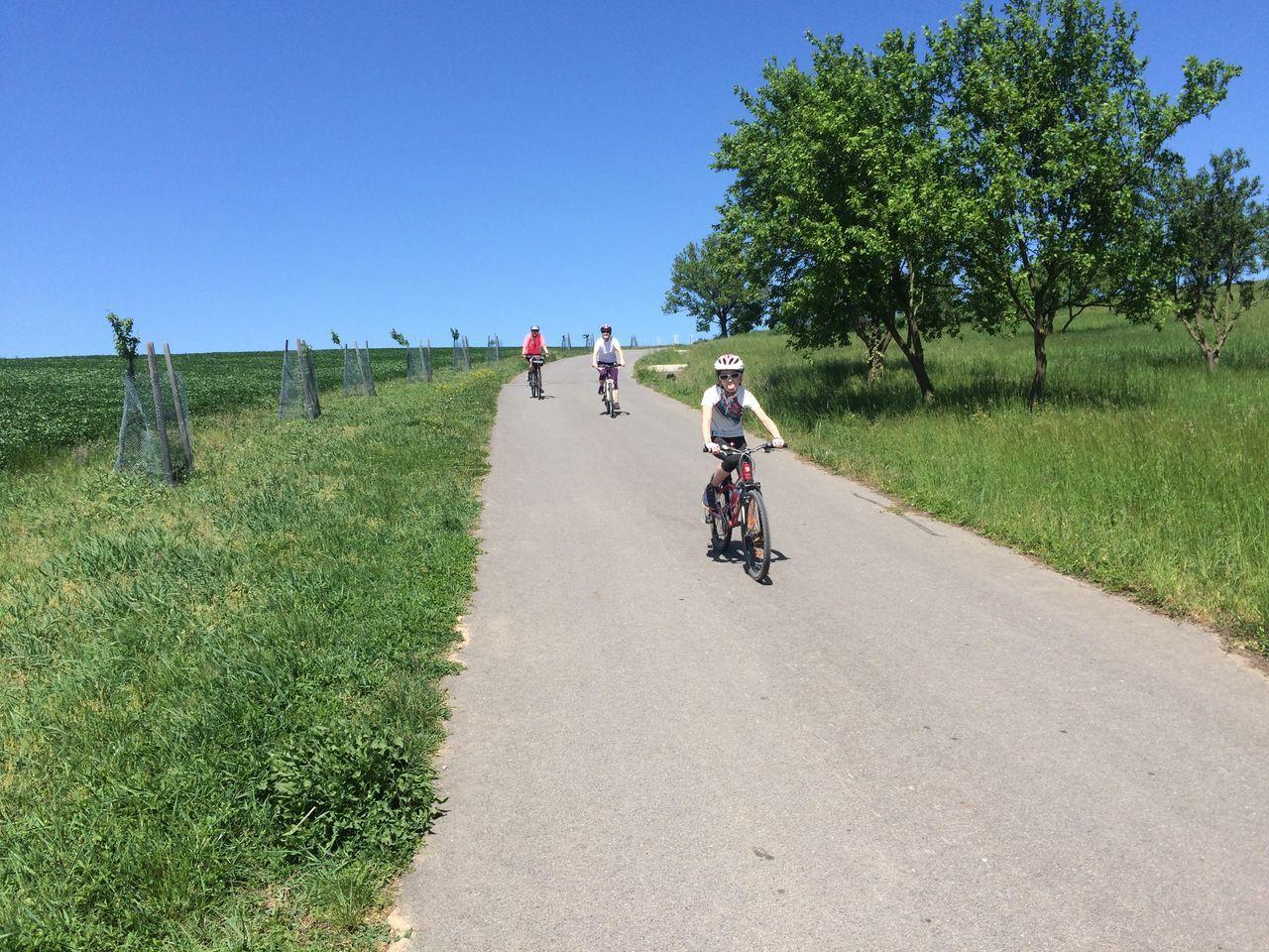 Okolí Hradiště na kole