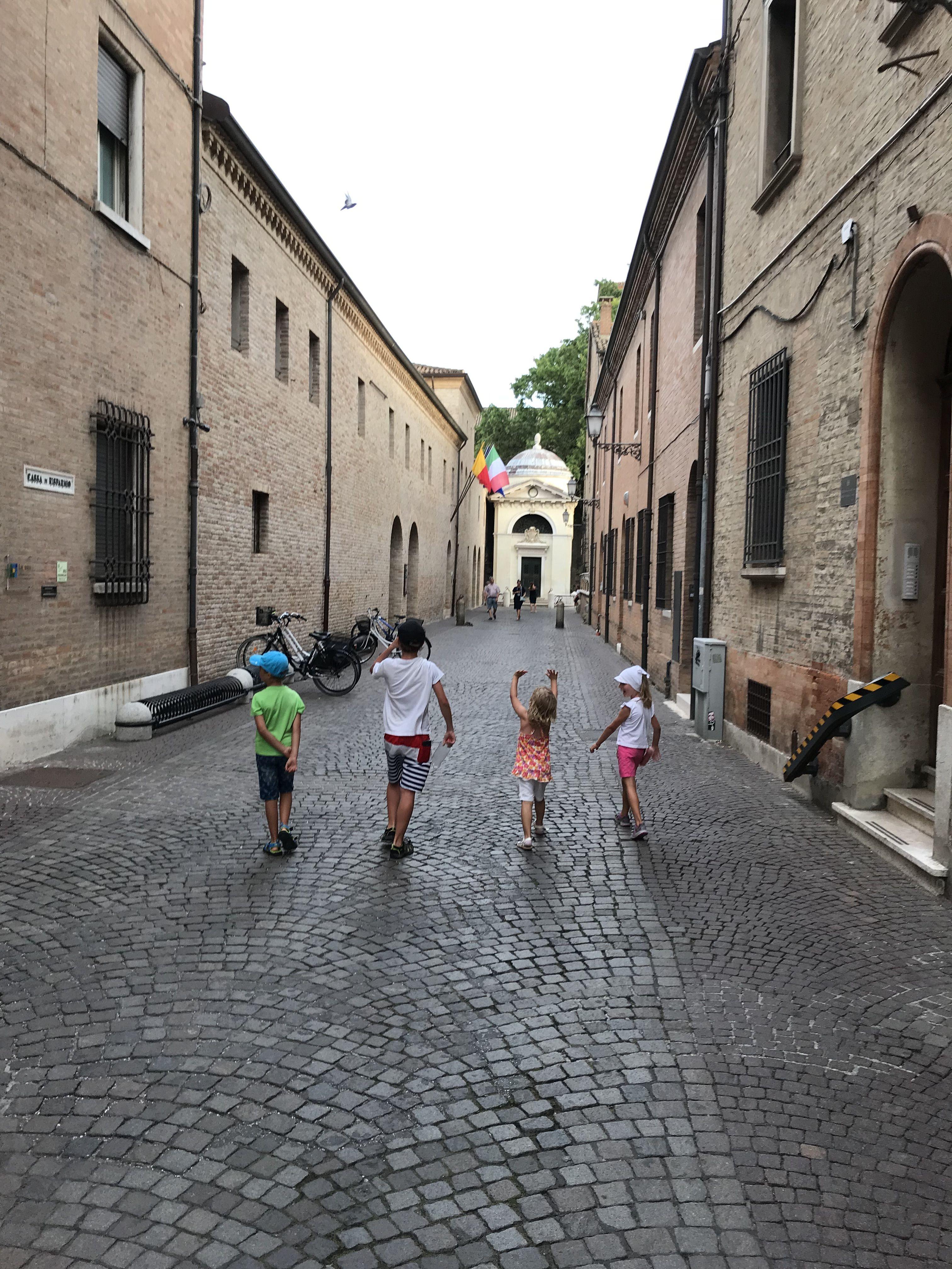 Na výletě v Ravenně