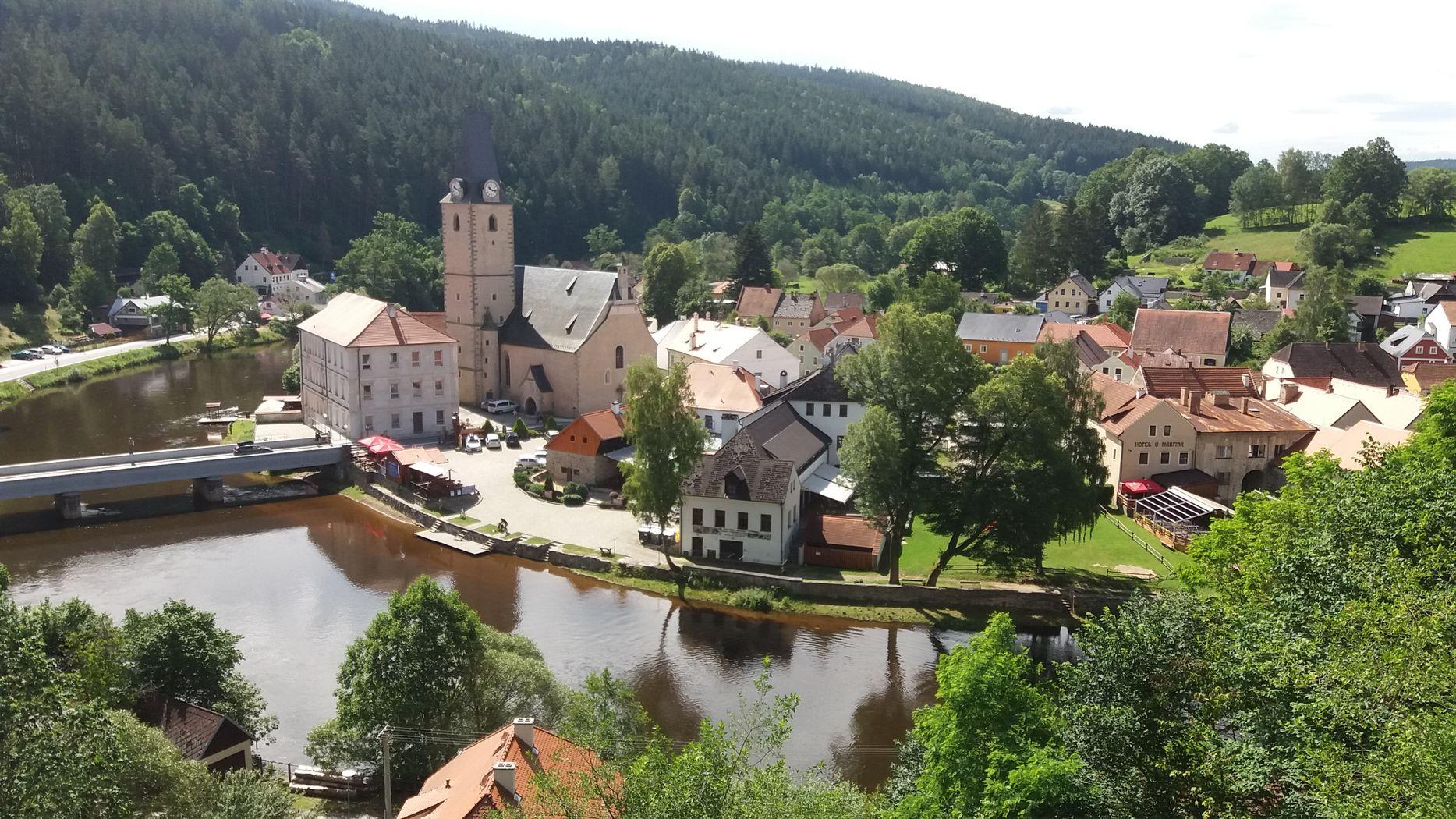 obec Rožmberk
