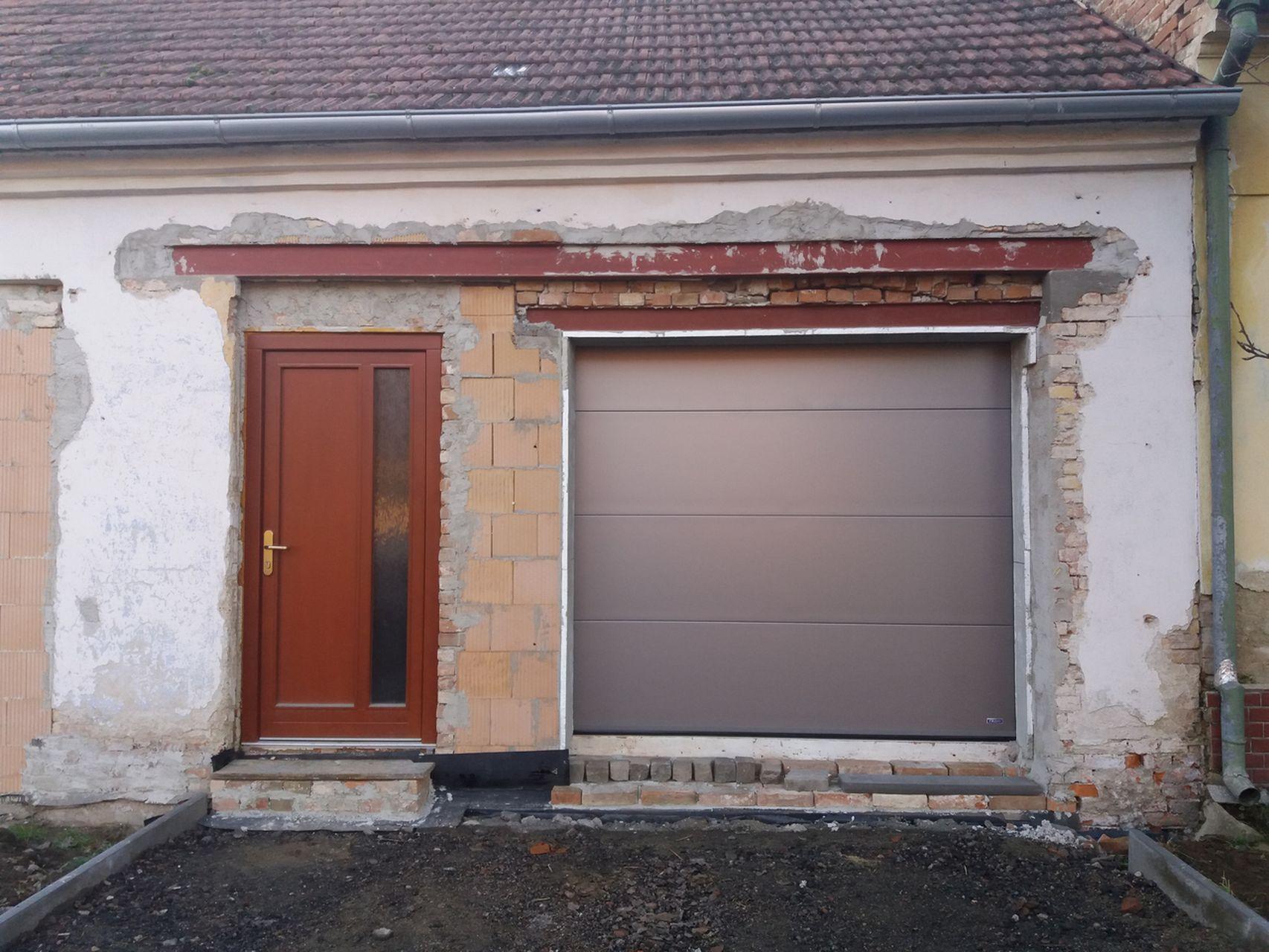 Nový garážový vrata