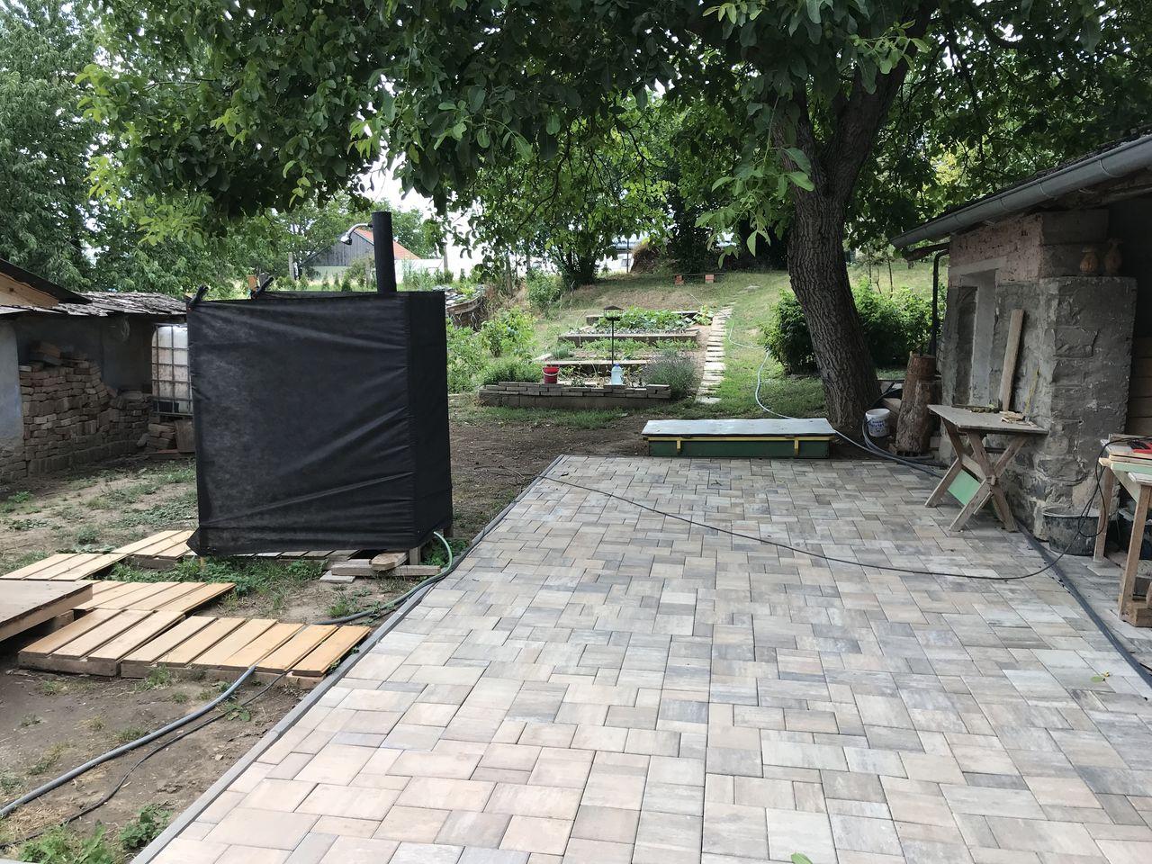 Zahrada - červen 2018