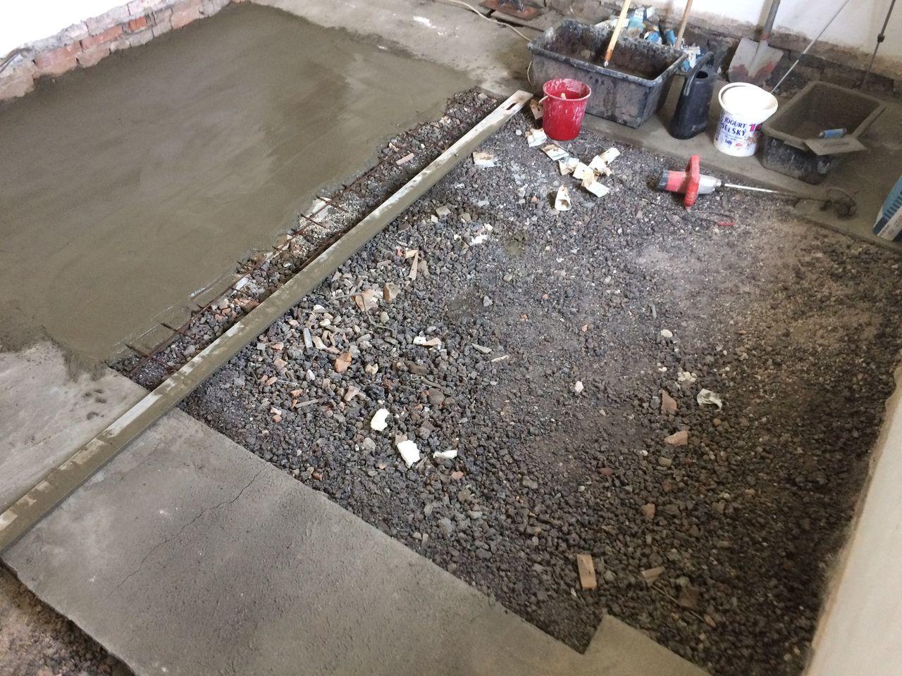 Práce na podlahách