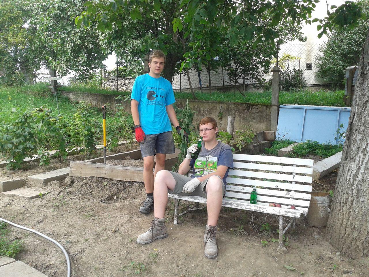 Brigádníci Aleš a Filip
