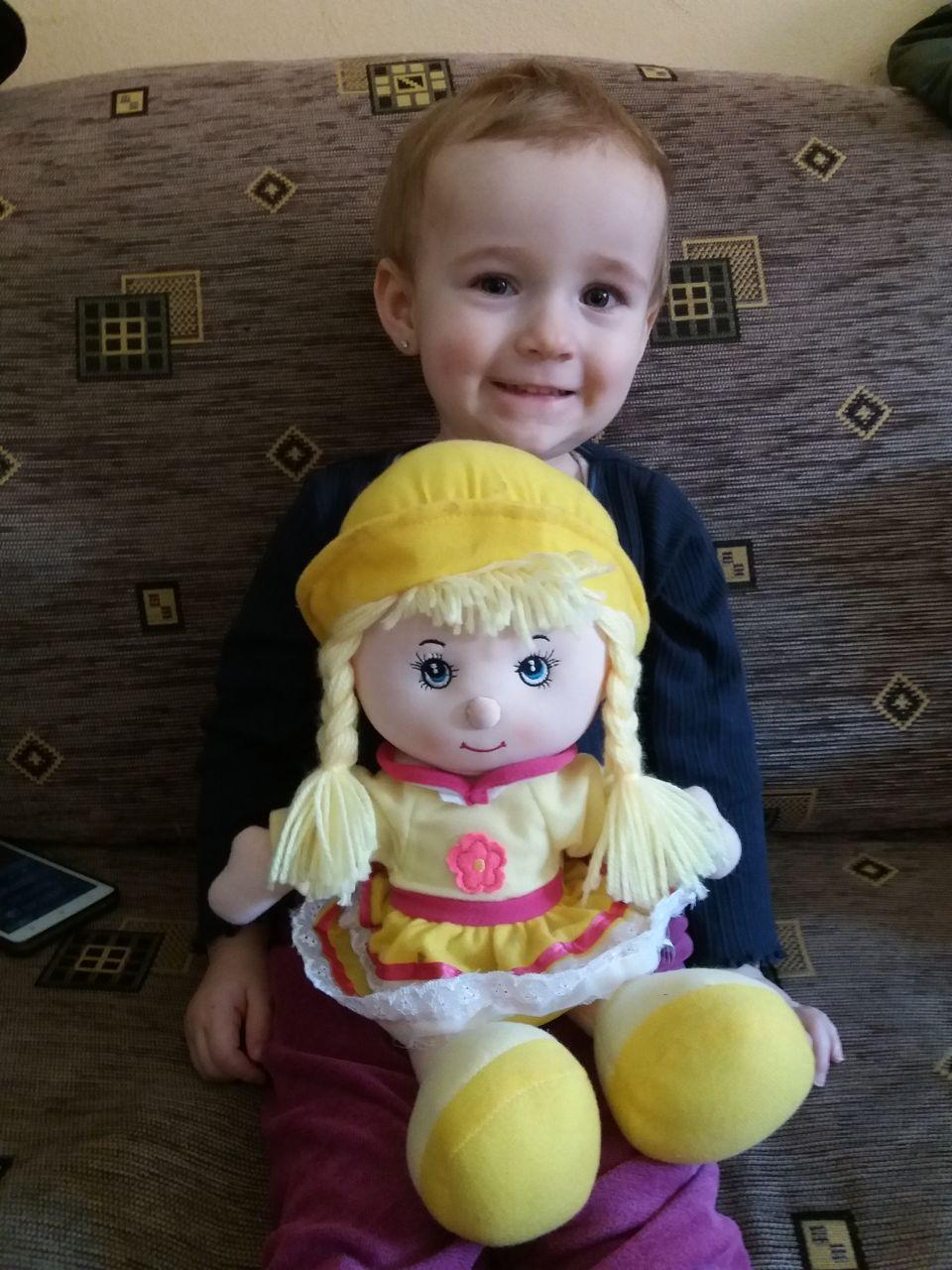 S panenkou od tety Hany