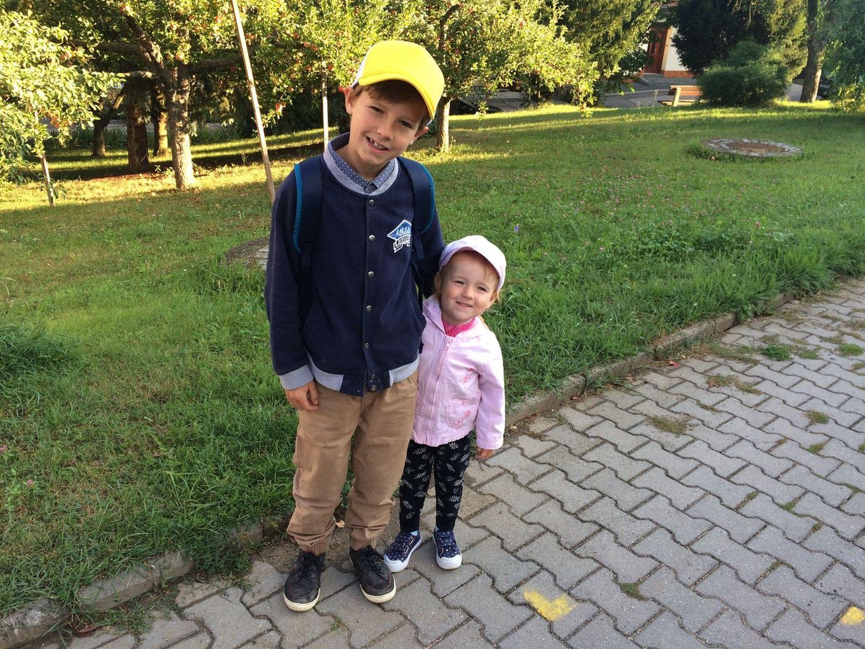 První školkový den