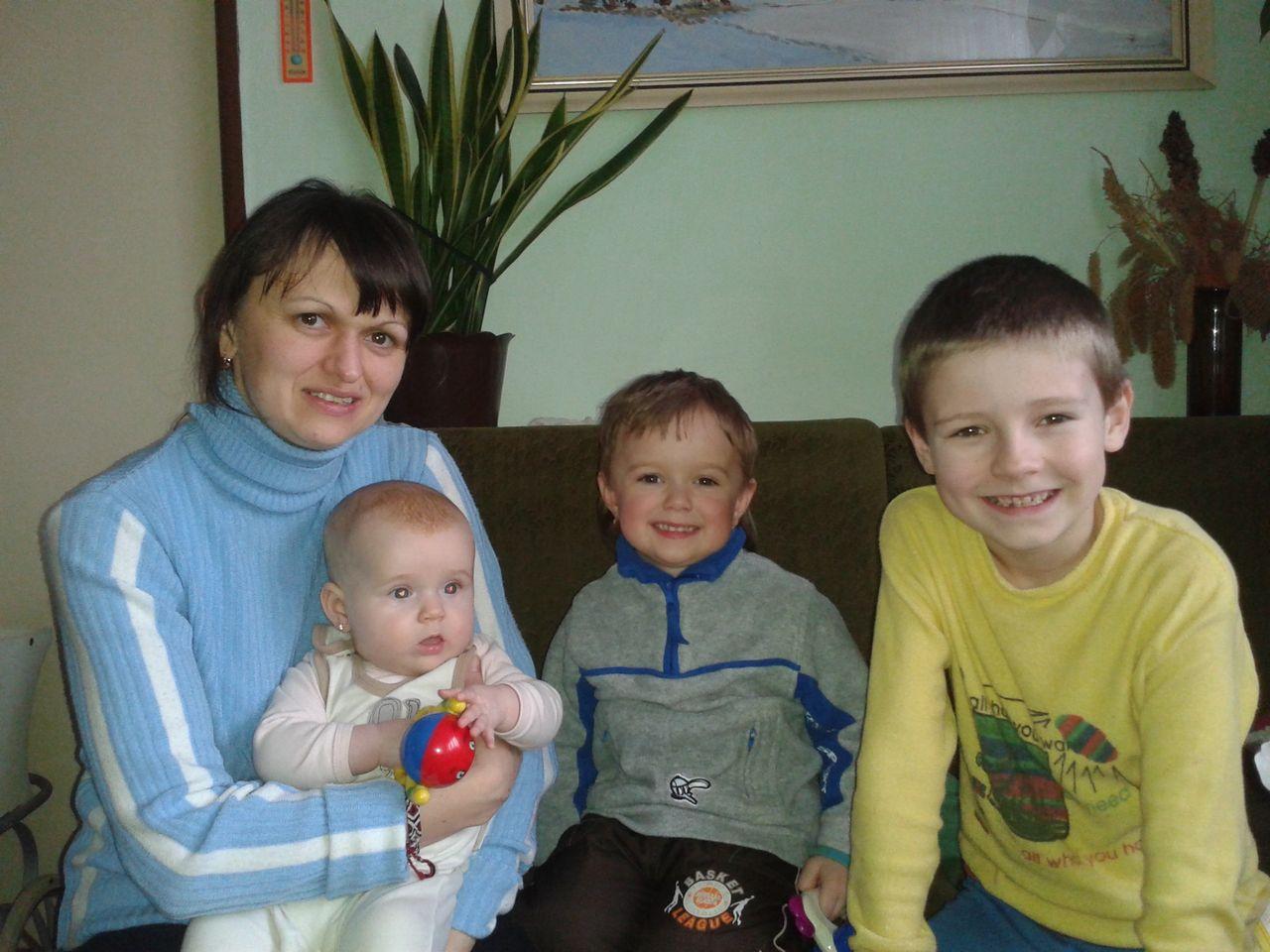 S tetou Radkou a Nikolkou